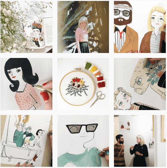 Maria hesse cuenta instagram ilustradora