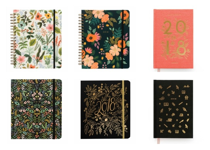 Agendas bonitas Rifle Paper Co