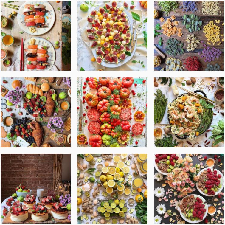 comida en instagram con laura ponts