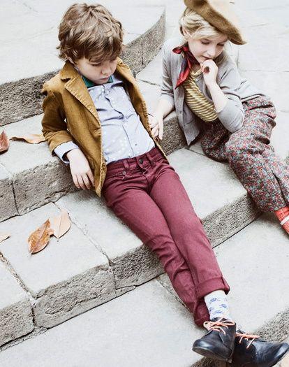 moda para niñas y niños