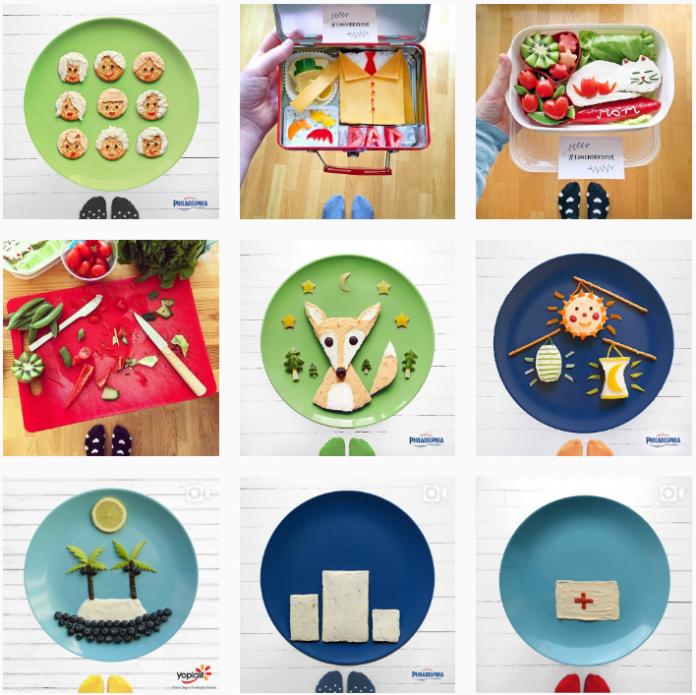 comida en instagram