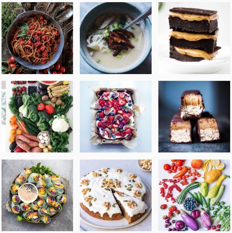 comida en instagram  bestofvegan