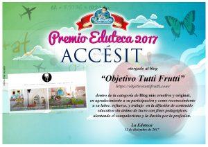 Premio Accesit Blog más creativo y original