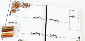 registro diario bullet journal como se hace y que es