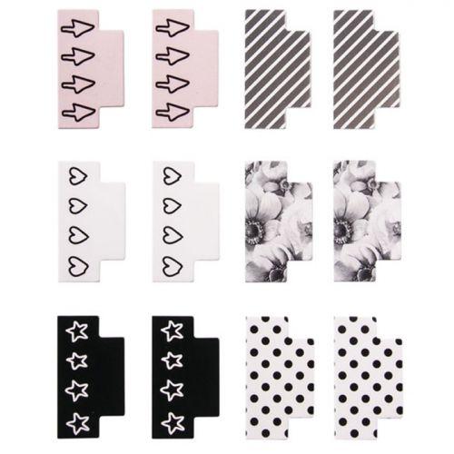 separadores marcadores de páginas de carton duro bonitos