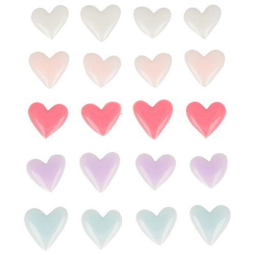 pegatinas 3d corazones