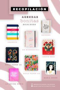recopilacion agenda bonita 2019 2020