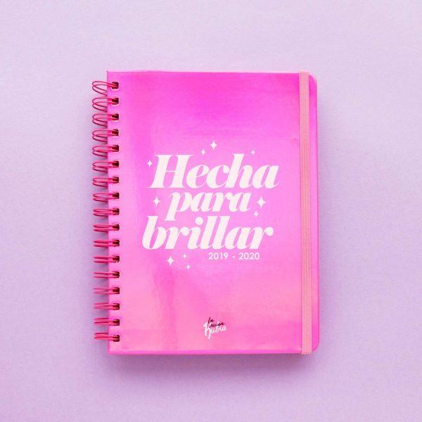agenda escolar la vecina rubia 2019/2020