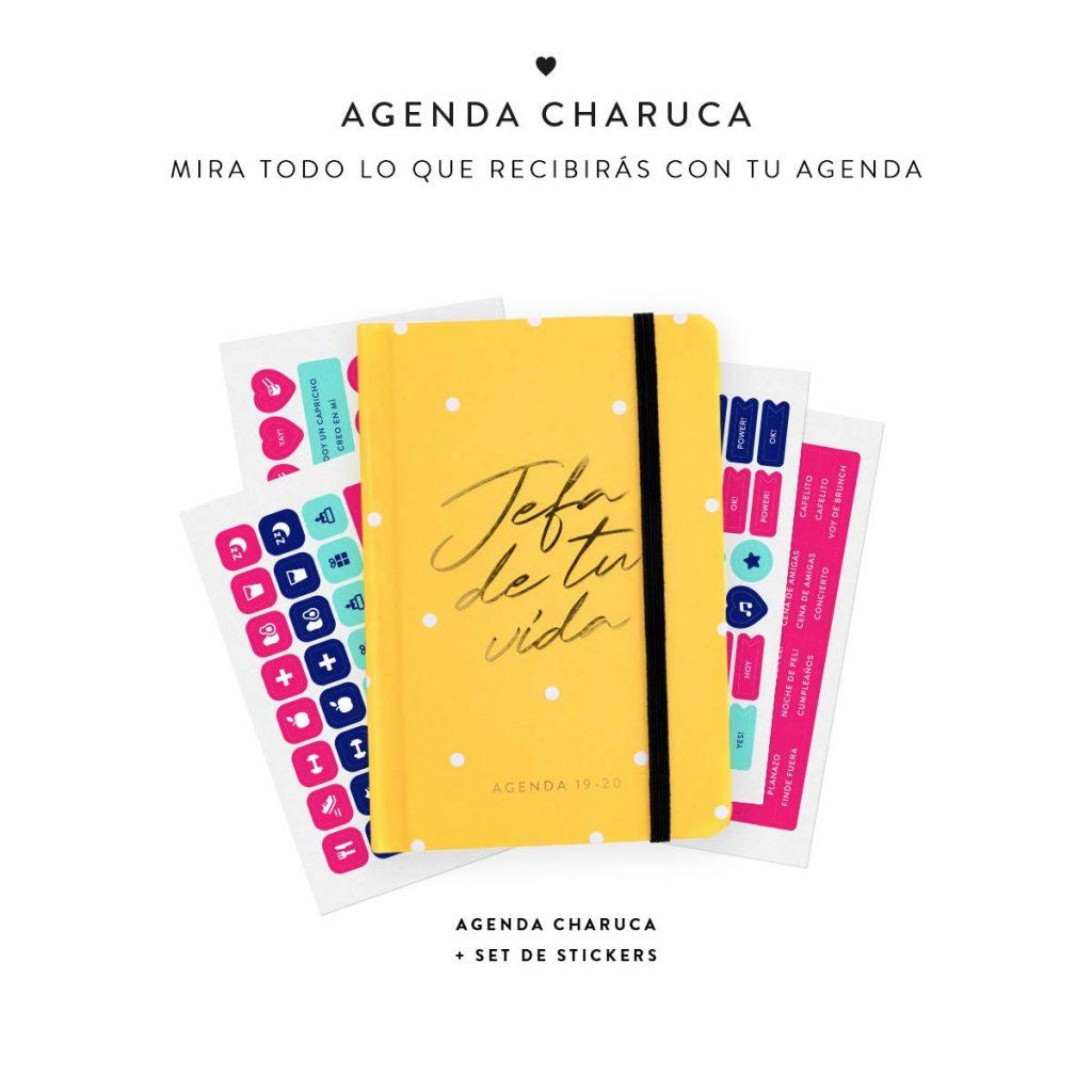 AGENDAS BONITAS CHARUCA 2019 2020 AMARILLA