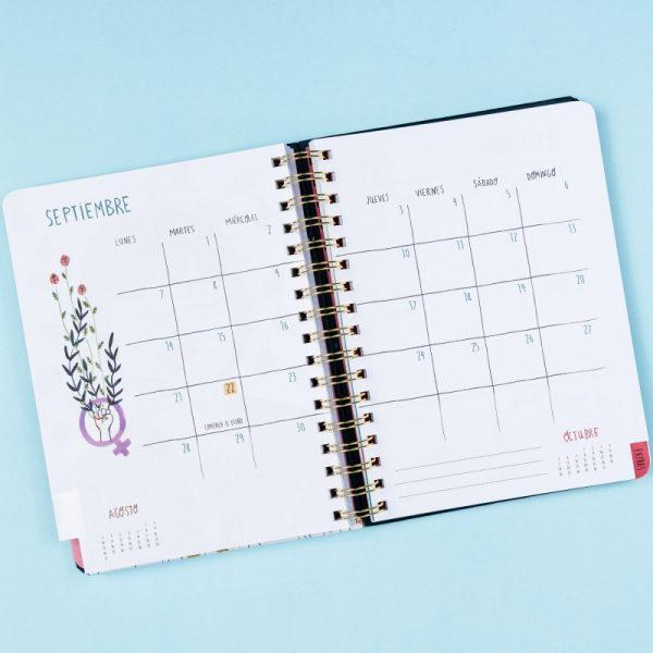 agenda maria hesse 2019 2020 tan tan fan calendario
