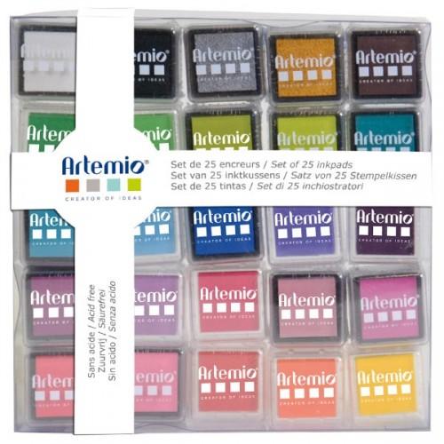 set de tinta para sellos al agua sin tóxicos