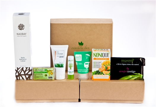 essentia box suscripcion mensual cosmetica ecologica